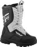 Fly Racing Snowmobile Marker Boots (White)