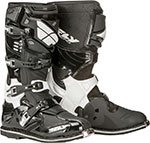 FLY Racing MX Motocross - SECTOR Boots (Black)
