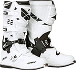 FLY Racing MX Motocross - SECTOR Boots (White)