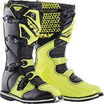 FLY Racing MX Motocross - Kids MAVERIK MX Boots (Hi-Vis)