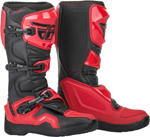 Fly Racing MX Motocross Maverik Boots (Red/Black)