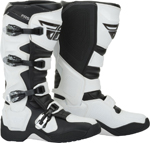 Fly Racing MX Motocross FR5 Boots (White)