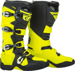 Fly Racing MX Motocross FR5 Boots (Hi-Vis Yellow)