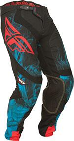 FLY RACING Lite Hydrogen MX/Motocross/ATV Pants (Black/Blue)