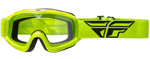 Fly Racing MX Motocross MTB BMX 2018 FOCUS Goggles (Hi-Vis w/ Clear Lens)