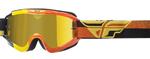 Fly Racing MX Motocross MTB BMX 2018 ZONE Composite Goggles (Yellow/Orange/Black)