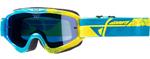 Fly Racing MX Motocross MTB BMX 2018 ZONE Composite Goggles (Blue/Hi-Vis)