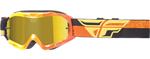 Fly Racing MX Motocross MTB BMX Kids ZONE Composite Goggles (Yellow/Orange/Black)