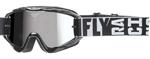 Fly Racing MX Motocross MTB BMX 2018 ZONE Turret Goggles (Black w/ Chrome/Smoke Lens)