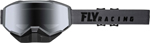 Fly Racing Focus Snow Goggles (Grey w/Silver Mirror Lens)