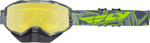 Fly Racing Focus Snow Goggles (Black/Grey/Hi-Vis w/Yellow Lens)