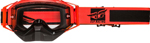 Fly Racing Zone Snow Goggles (Hi-Vis Orange/Black w/Clear Lens)