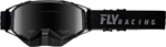 Fly Racing Zone Pro Snow Goggles (Black/Grey w/Dark Smoke Polarized Lens)