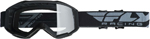 Fly Racing MX Motocross 2019 Focus Goggles (Black w/Clear Lens)