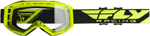 Fly Racing MX Motocross 2019 Focus Goggles (Hi-Vis Yellow w/Clear Lens)