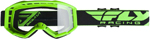 Fly Racing MX Motocross Kids Youth 2019 Focus Goggles (Hi-Vis Green w/Clear Lens)