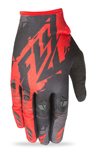 FLY RACING MX Motocross MTB BMX 2017 KINETIC Gloves (Black/Red)