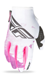 FLY RACING MX Motocross MTB BMX Womens 2017 Kinetic Gloves (Pink/Purple)