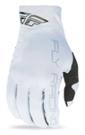 FLY RACING MX Motocross MTB BMX 2017 Pro Lite Gloves (White)