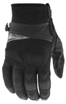 Fly Racing Snow Snowmobile Men's BOUNDARY Gloves (Black)