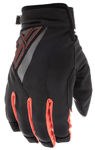 Fly Racing Motocross MTB BMX 2018 Men's TITLE Cold Weather Gloves (Black/Orange)