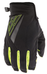 Fly Racing Motocross MTB BMX 2018 Men's TITLE Cold Weather Gloves (Black/Hi-Vis)