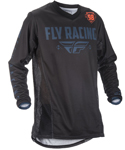 Fly Racing Adventure Offroad 2018 Men's PATROL Jersey (Black/Grey)