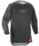 Fly Racing Adventure Offroad 2018 Men's PATROL XC Jersey (Black/Grey)