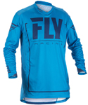 Fly Racing MX Motocross MTB BMX 2018 Men's LITE HYDROGEN Jersey (Blue/Navy)