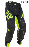 Fly Racing MX Motocross MTB BMX 2018 Men's LITE HYDROGEN Pants (Hi-Vis/Black)