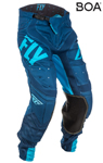Fly Racing MX Motocross MTB BMX 2018 Men's LITE HYDROGEN Pants (Blue/Navy)