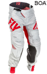 Fly Racing MX Motocross MTB BMX 2018 Men's LITE HYDROGEN Pants (Red/Grey)