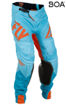 Fly Racing MX Motocross MTB BMX 2018 Men's LITE HYDROGEN Pants (Orange/Blue)