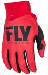 Fly Racing MX Motocross MTB BMX 2018 Men's PRO LITE Gloves (Red)