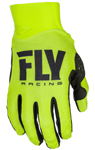 Fly Racing MX Motocross MTB BMX 2018 Men's PRO LITE Gloves (Hi-Vis)