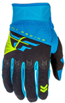 Fly Racing MX Motocross MTB BMX 2018 Kids F-16 Gloves (Blue/Black)
