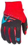 Fly Racing MX Motocross MTB BMX 2018 Kids F-16 Gloves (Red/Black)