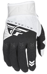 Fly Racing MX Motocross MTB BMX 2018 Kids F-16 Gloves (White/Black)