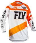 Fly Racing MX Motocross MTB BMX 2018 Kids F-16 Jersey (Orange/White)