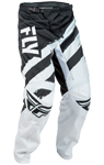 Fly Racing MX Motocross MTB BMX 2018 Kids F-16 Pants (Black/White)