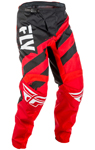 Fly Racing MX Motocross MTB BMX 2018 Kids F-16 Pants (Red/Black)