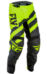 Fly Racing MX Motocross MTB BMX 2018 Kids F-16 Pants (Black/Hi-Vis)