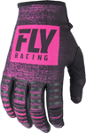 Fly Racing MX Motocross Kinetic Noiz Gloves (Neon Pink/Black)