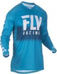 Fly Racing MX Motocross Lite Hydrogen Jersey (Blue/White)