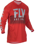 Fly Racing MX Motocross Lite Hydrogen Jersey (Red/Grey)