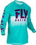 Fly Racing MX Motocross Lite Hydrogen Jersey (Seafoam/Port)