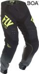 Fly Racing MX Motocross Lite Hydrogen Pants (Black/Hi-Vis)
