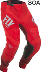 Fly Racing MX Motocross Lite Hydrogen Pants (Red/Grey)