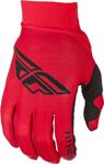 Fly Racing MX Motocross Pro Lite Gloves (Red/Black)