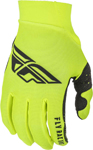 Fly Racing MX Motocross Pro Lite Gloves (Hi-Vis/Black)